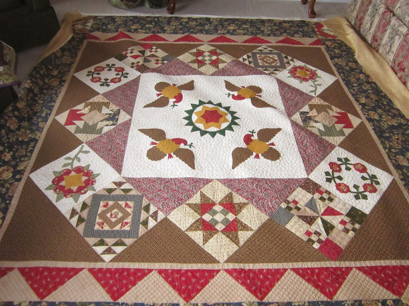 Quilting Is My Bliss: January 2015 : first ladies quilt - Adamdwight.com