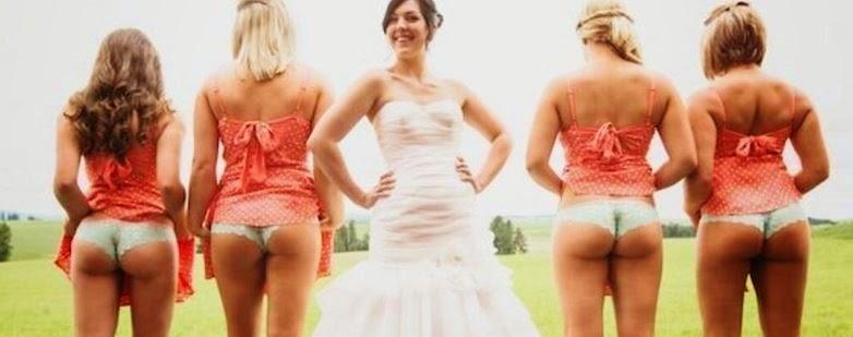 Hipernovas: Mostrar a bunda é a nova moda entre damas de honra na internet (10 Imagens)