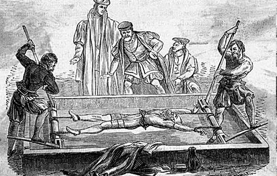 Torturas Medievais - Balcão da Tortura