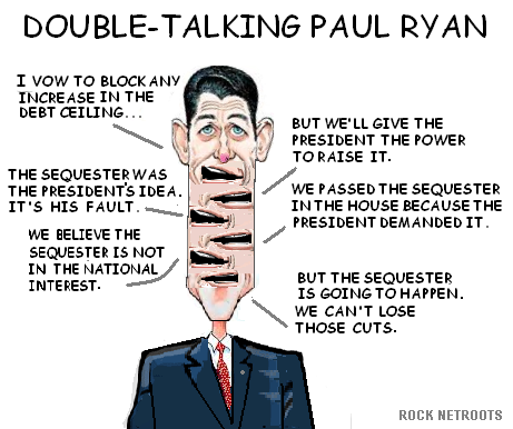 President Obama At Netroots >> Janesville - Rock County: Paul Ryan Among Only Three To Vote For The Sequester Cuts Twice.