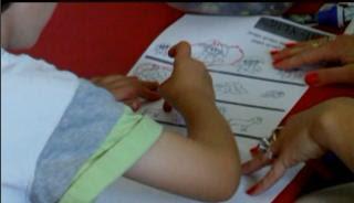 Графомоторные навыки в АВА программе