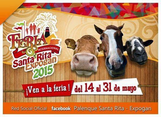 palenque teatro del pueblo feria santa rita expogan 2015