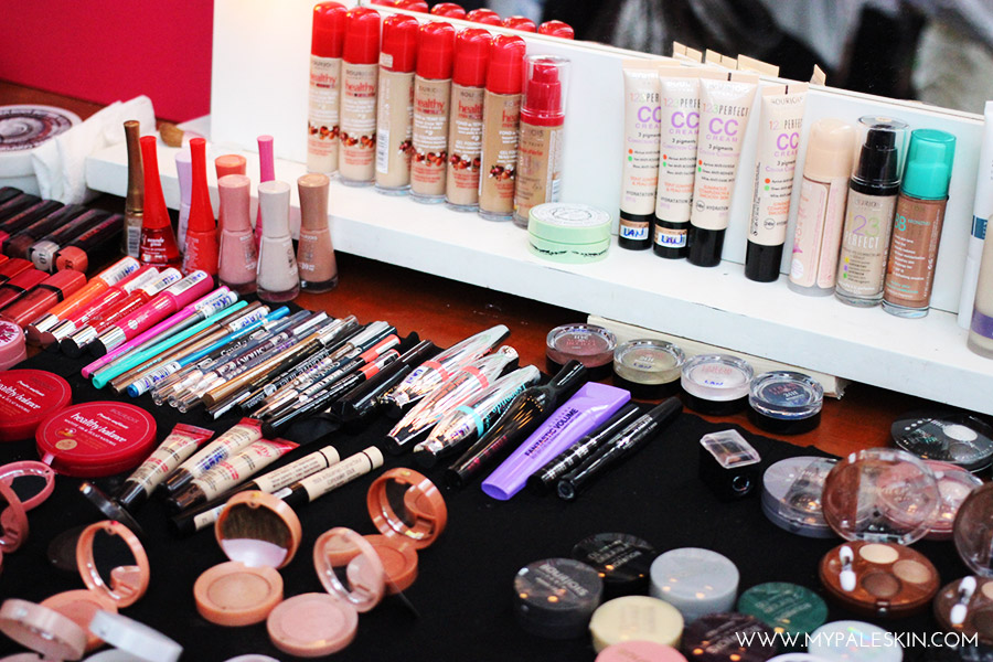 Bourjois Graduate Fashion Week backstage