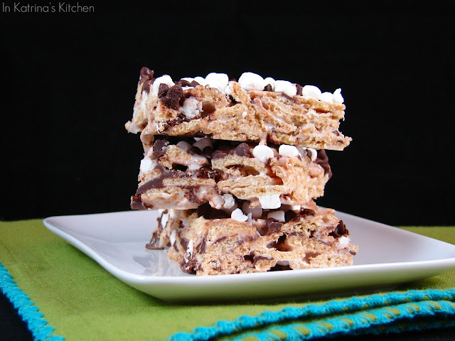 Smore Bars from @KatrinasKitchen