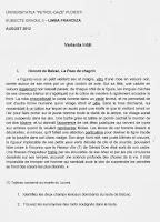 Subiecte grad II - limba franceza - Ploiesti 2012