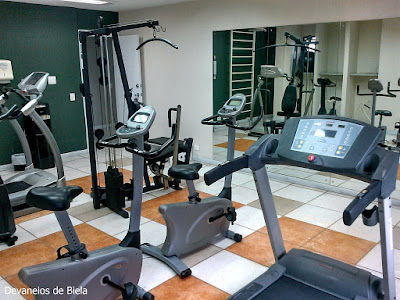 Hotel Slaviero Suítes Curitiba fitness