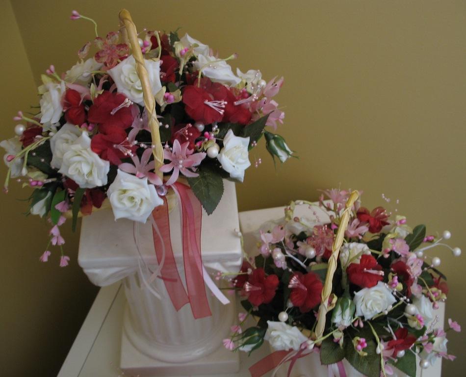 Flower Girl Baskets Canada : Bride in bloom the flower girl