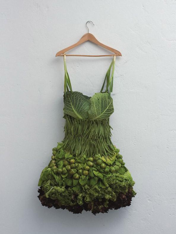 Sarah Illenberger Re-Imaginando las frutas y vegetales