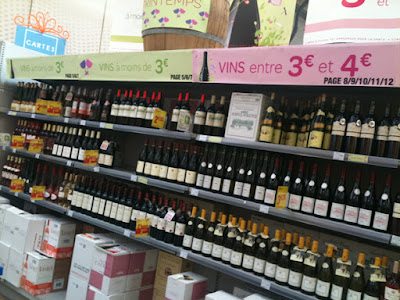 Wine section France