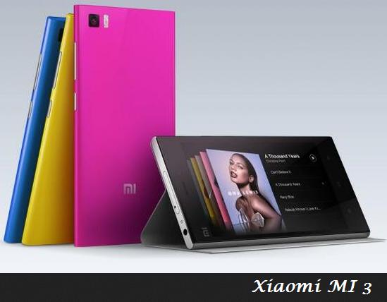 Spesifikasi Lengkap Xiaomi MI 3