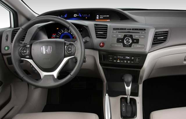 Honda Civic EXR 2.0 2014 - interior