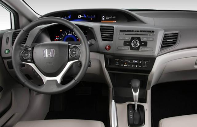 Honda Civic EXR 2.0 2014 - interior