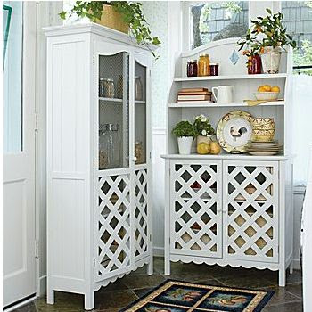 daily cheapskate solid wood server hutch and kitchen