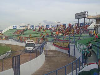 Torcida do Sport no Romeirão.