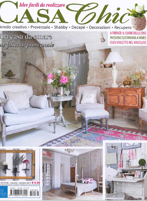 Casa chic rivista giugno 2016