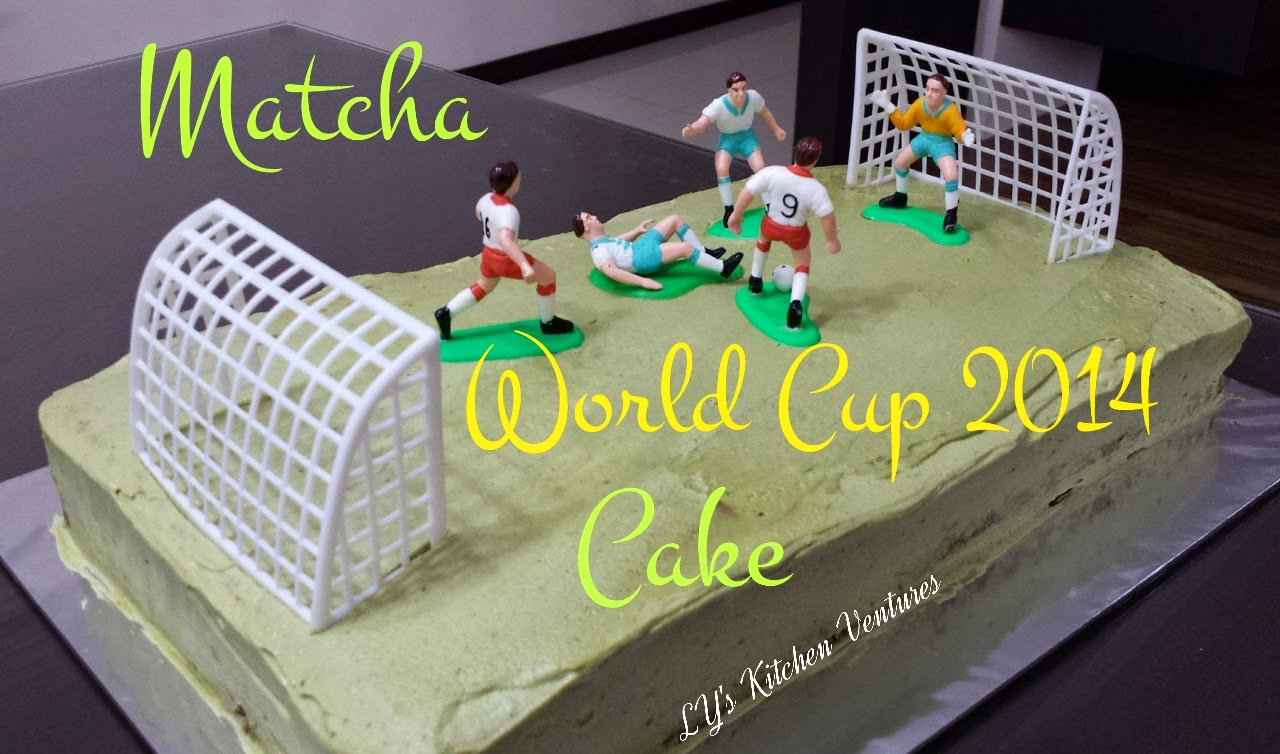 Matcha World Cup Cake 2014