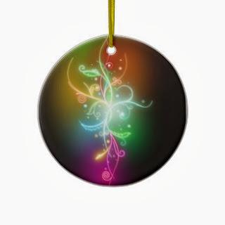 Decoración, Esferas de Neon, Arbol Navideño