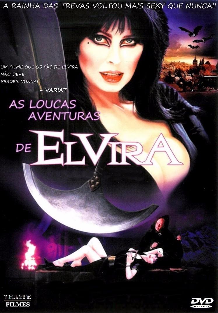 As Loucas Aventuras de Elvira – Dublado (2001)