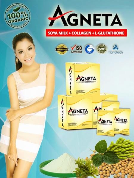 Agneta Soy Milk With Glutathione & Collagen