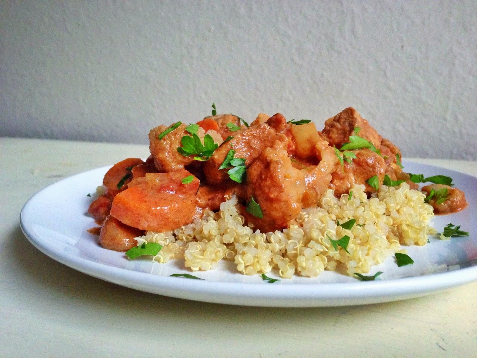 living beautifully...on a budget: Skinny Chicken Tikka Masala