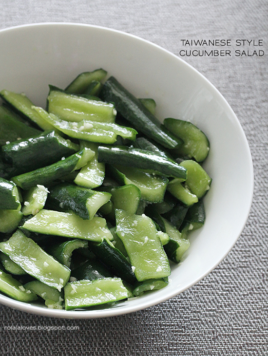 Cook taiwanese style cucumber salad recipe rolala loves this is one of my absolute favorite summertime dishes because its refreshingly delicious healthy and super easy to make its great as a side dish or forumfinder Gallery