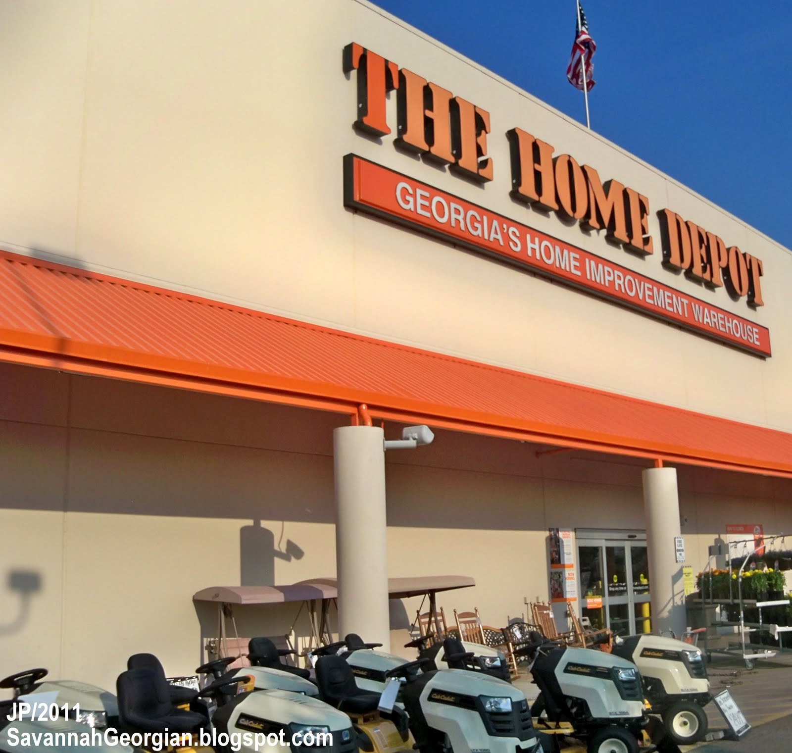 Savannah georgia chatham restaurant attorney bank dr for Shop home depot