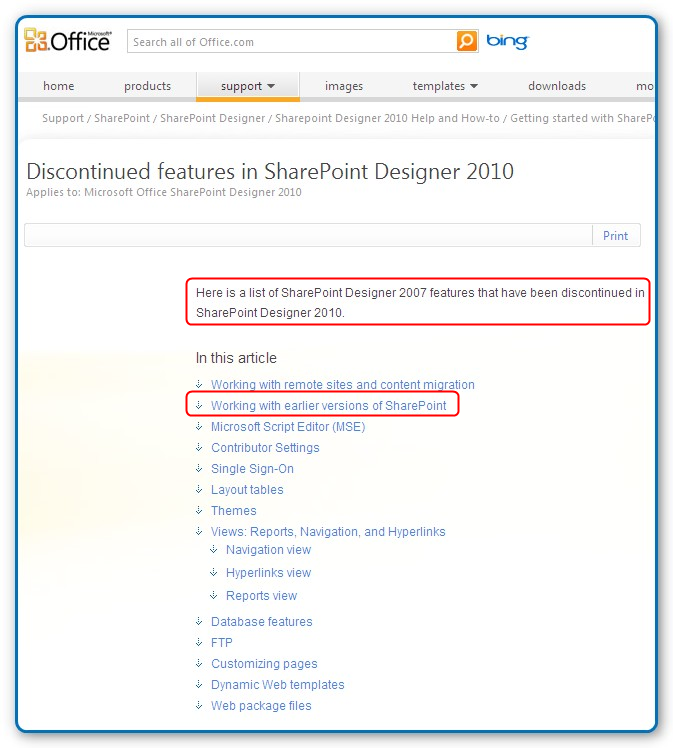 SharePoint for Dummies: FYI : Sharepoint Designer 2010 cannot edit ...