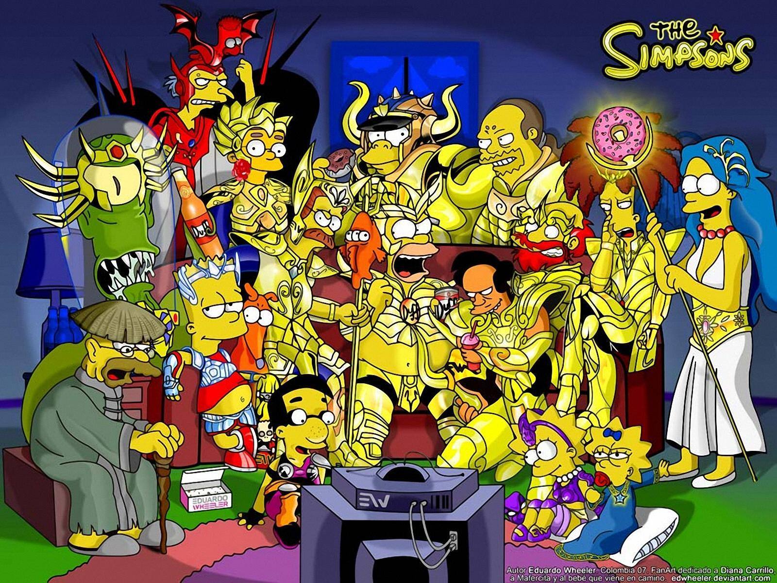 Funny Simpsons Wallpapers |See N Explore World