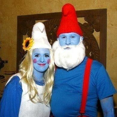 Parejas creativas trajes de Halloween