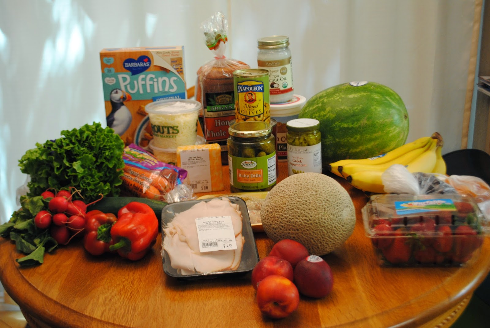 groceries from sprouts