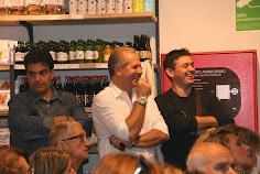 gli amici e chef Gregori Nalon e Andrea Aiello