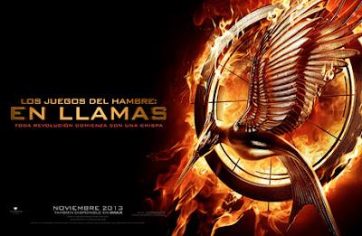 Logotipo de 'Los Juegos del Hambre: En llamas'. Carteles del Vasallaje de los veinticinco