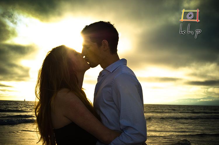 A shining kiss