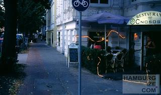 """Radweg"" Papenhuder Straße"