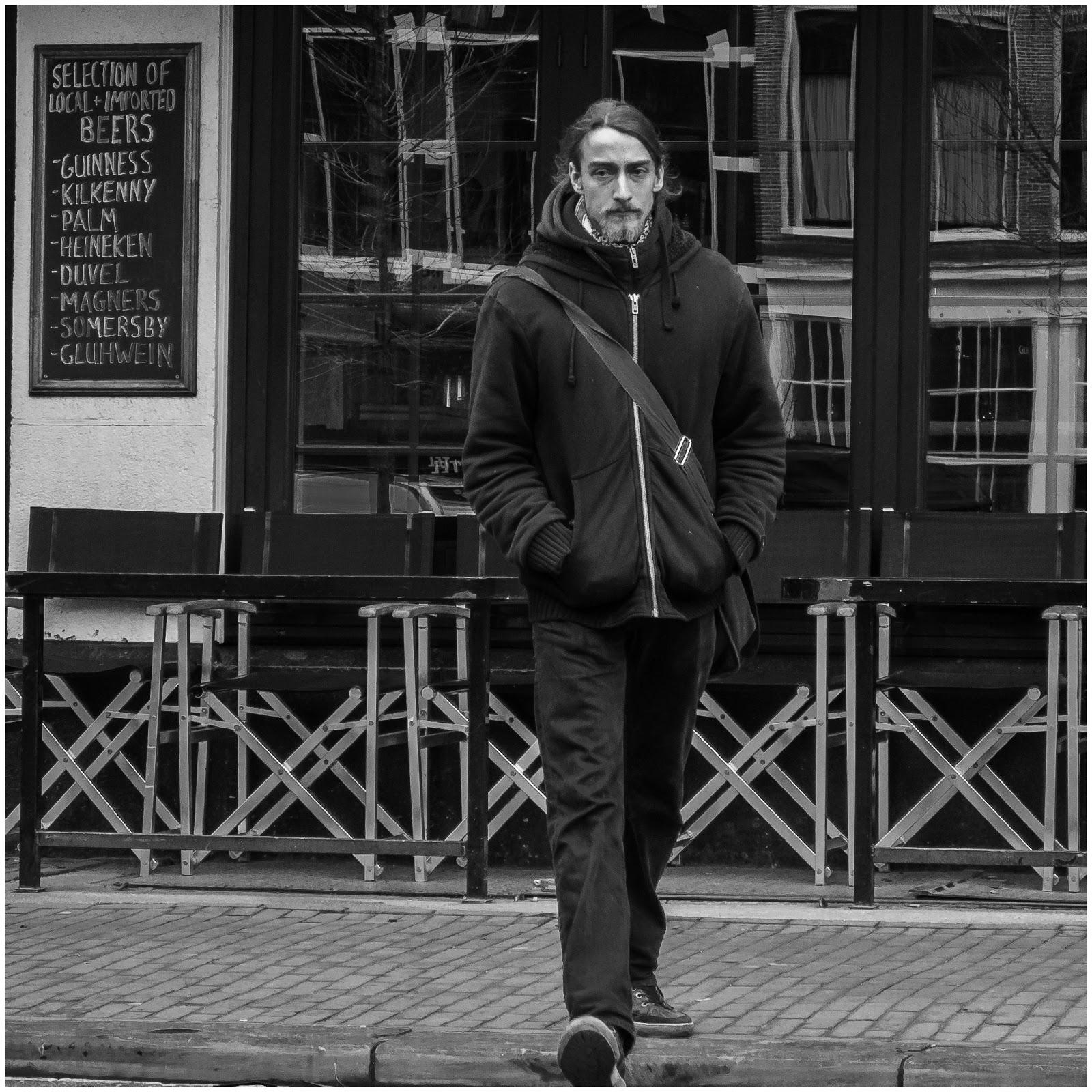 Straatfotografie in Amsterdam (Stopera)