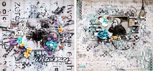 @marinasyskova @7dotsstudio #lo #layout #mixedmedia #scrapbooking #scrap