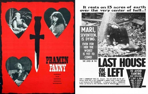 Virgin Spring & Last House on the Left posters