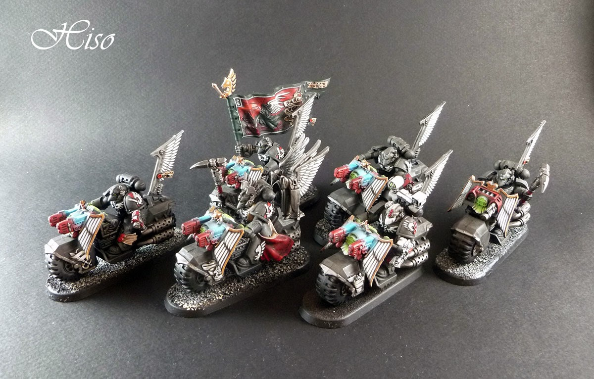 Dark Angels Ravenwing - Chevaliers noirs