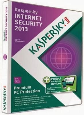Kaspersky Internet Security 2013 Cover