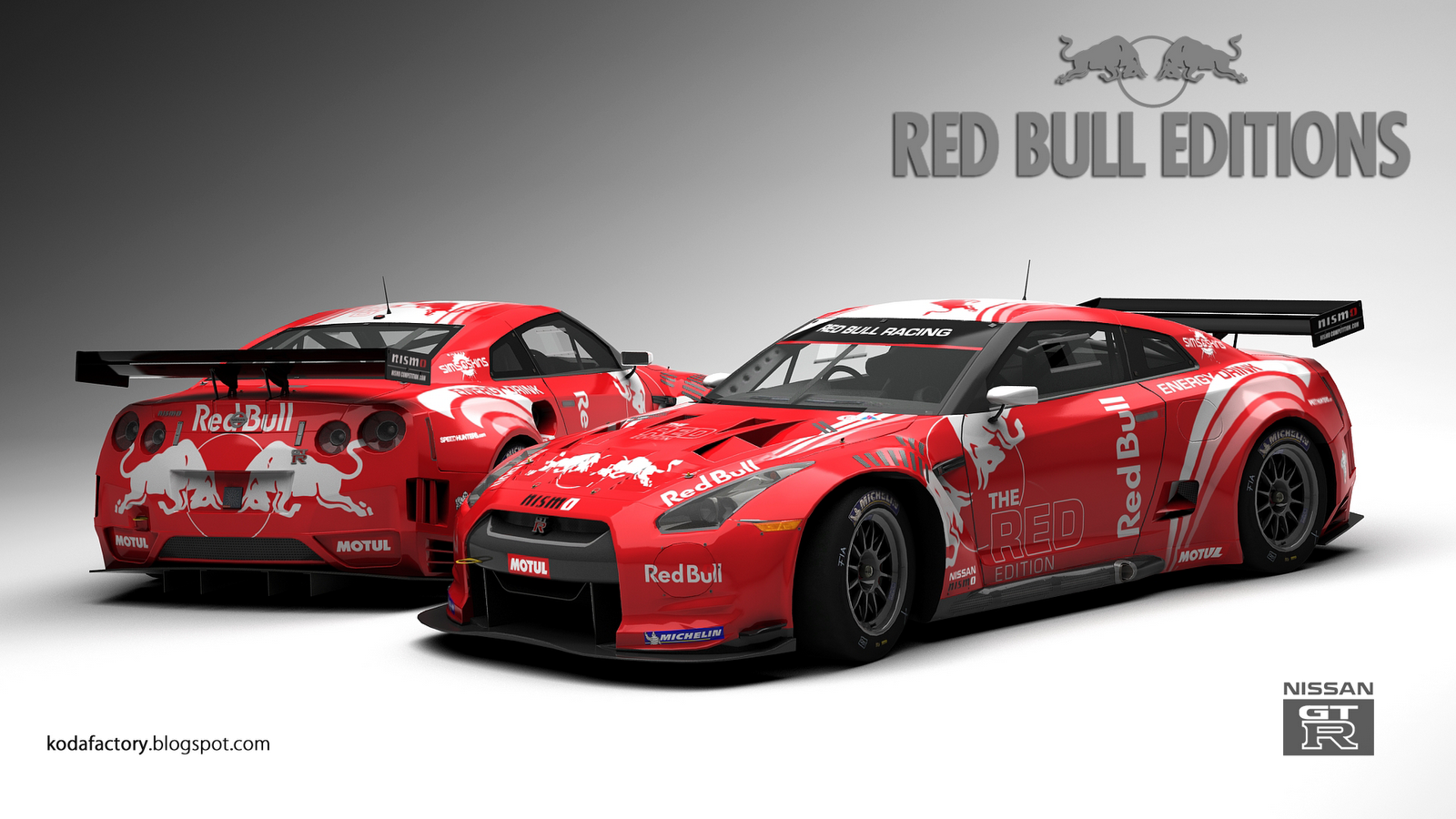 koda factory nissan red bull editions. Black Bedroom Furniture Sets. Home Design Ideas