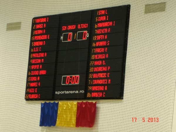 Oltchim Rm Valcea - ultimul meci