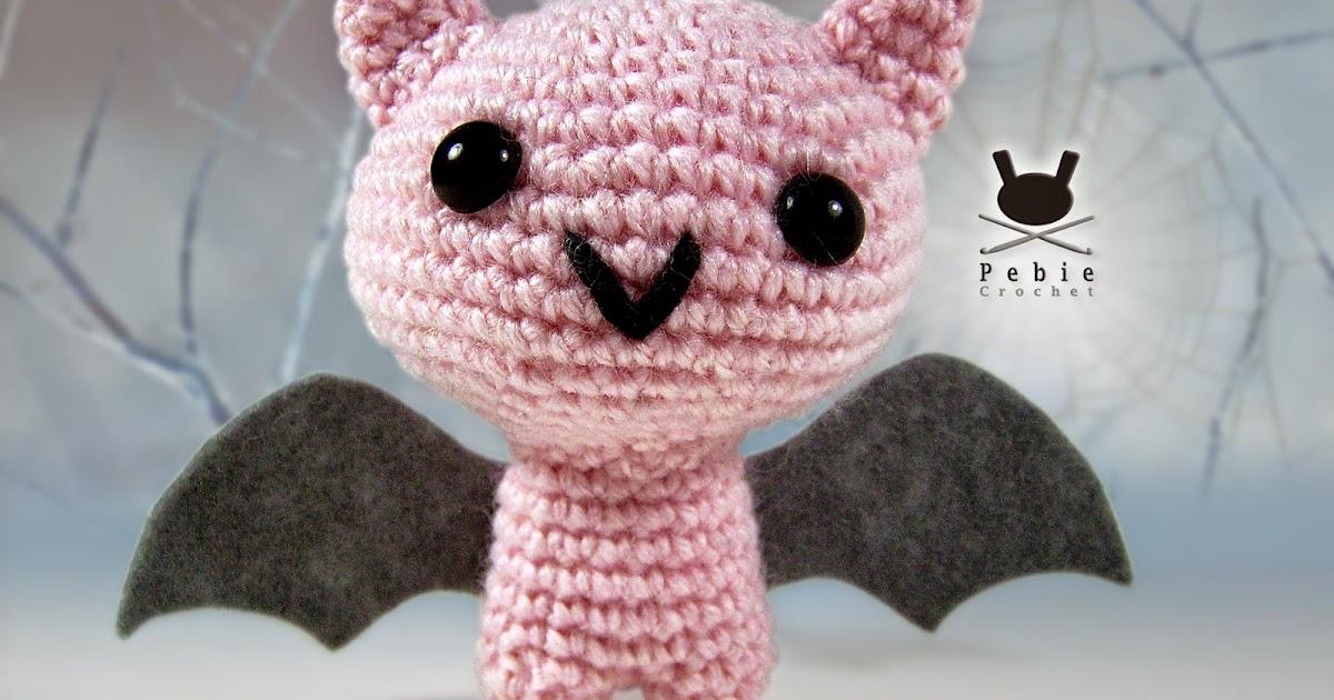 Funny Amigurumi by Pebie: A bat amigurumi pattern: Lusquinho