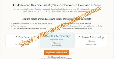 Cara Download File di Scribd Gratis