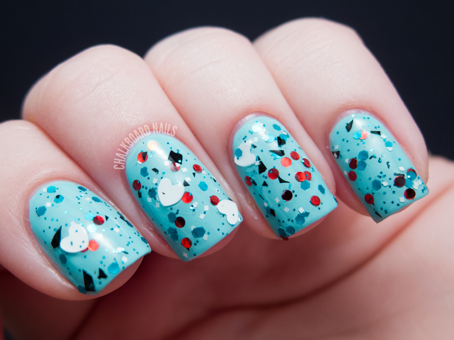 I Love Nail Polish - Valentine\'s Day Collection | Chalkboard Nails ...