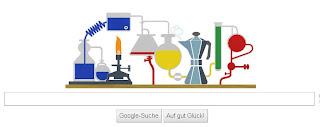 Google Doodle Robert Bunsen