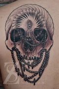 You have read this article with the title Crazy Head Skull Tattoos.