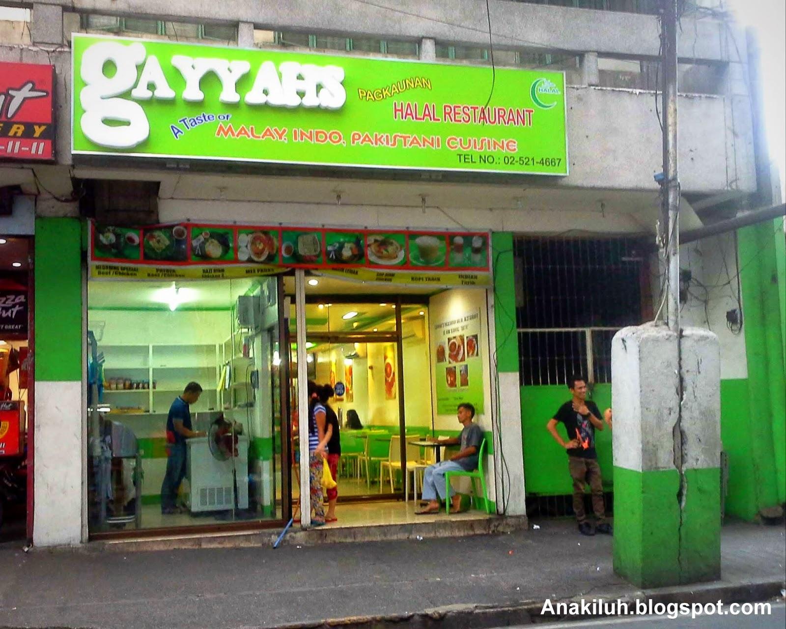 Halal Food cuisine Malaysian