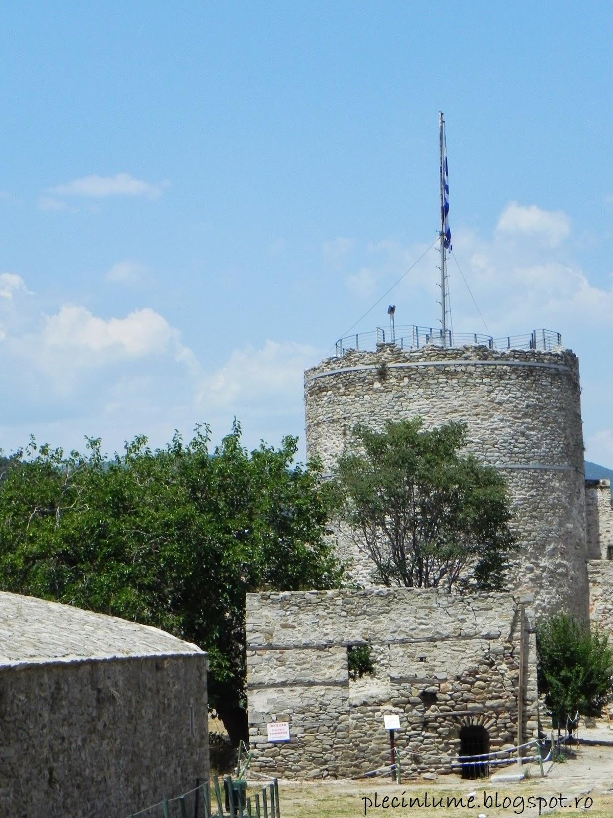 Turnul cetatii Kavala