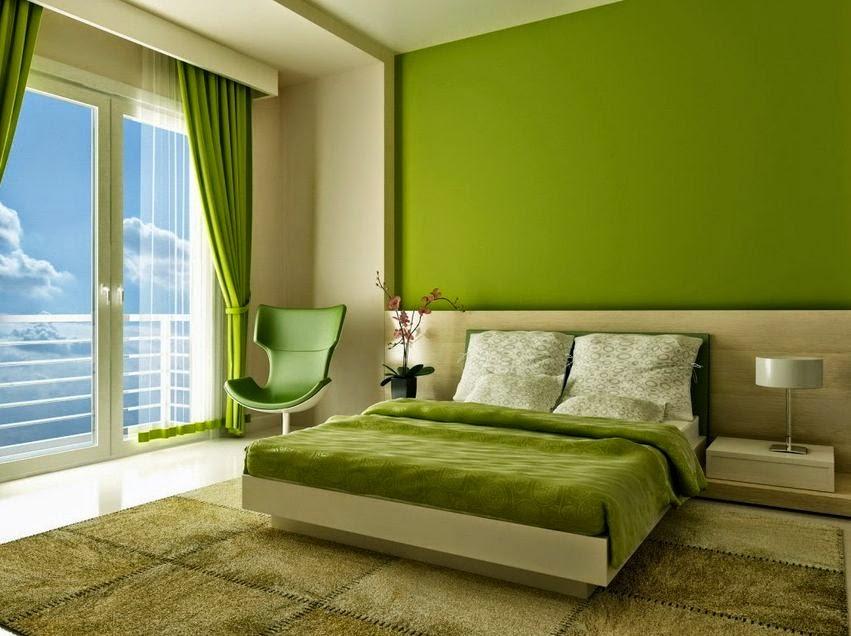 pilihan terbaik warna dinding kamar tidur minimalis 2015