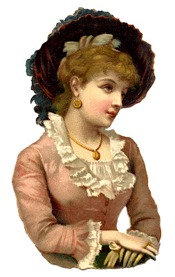 Free Vintage Image Victorian Woman 
